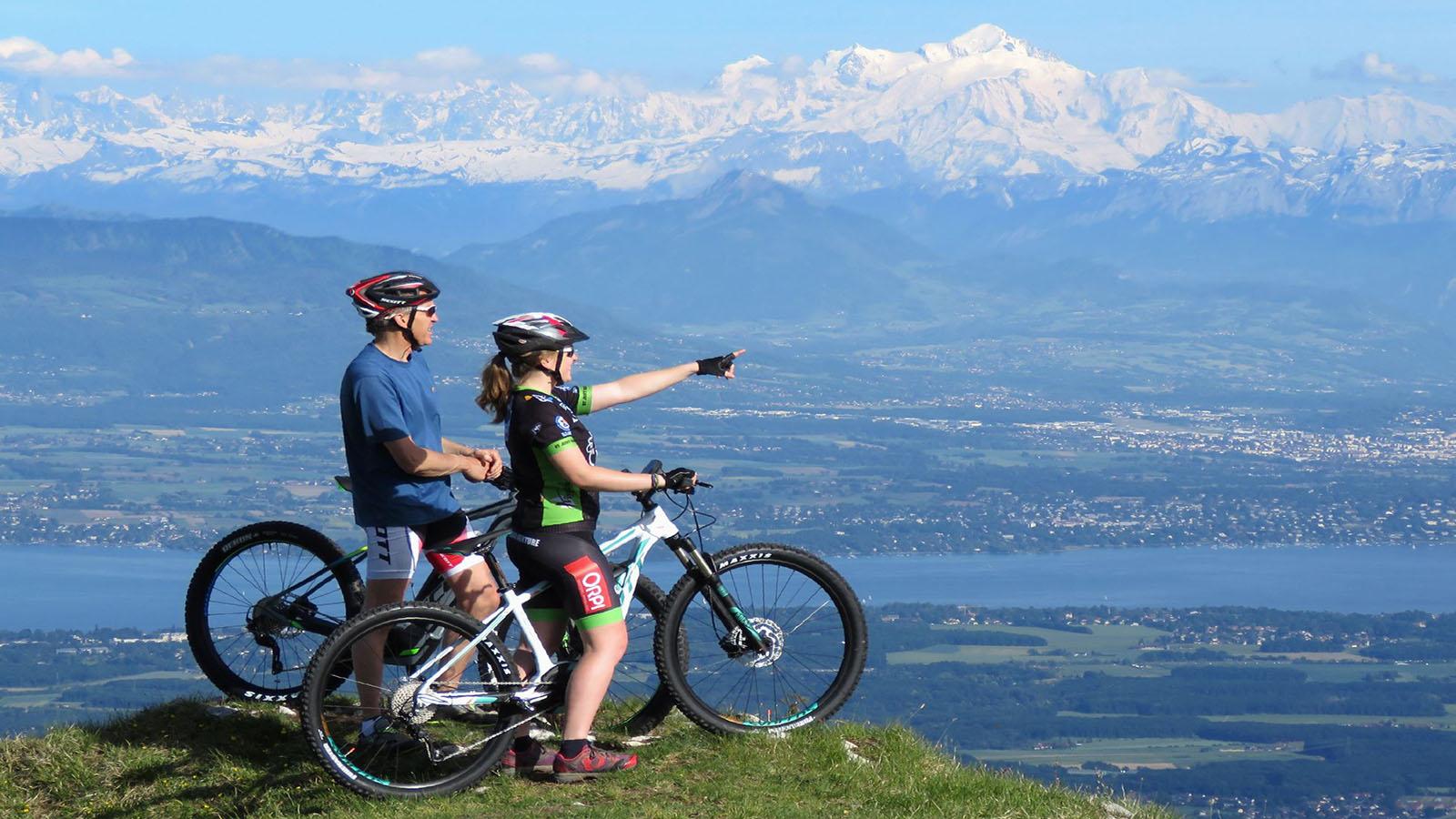 Les itinéraires vélos et VTT