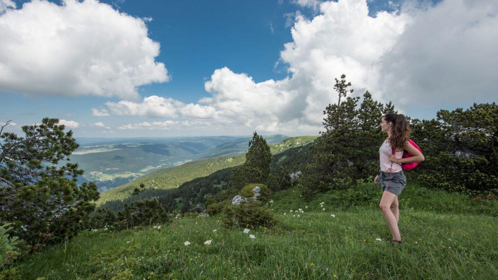 Les randonnées sur les crêtes de la Haute Chaîne du Jura