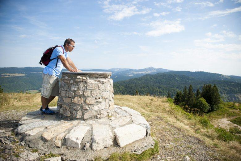 Sommet Petit Mont Rond
