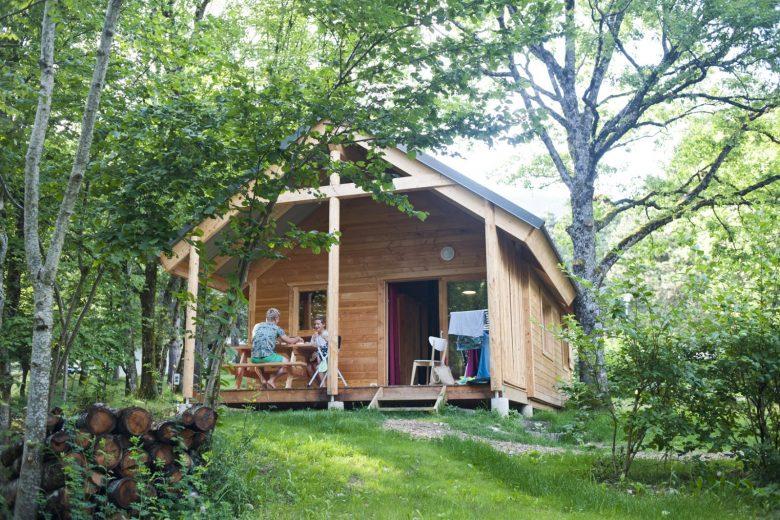 Chalet au Camping Huttopia de Divonne les Bains