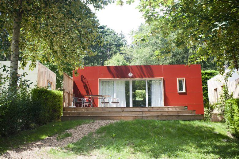 Mobile-home au Camping Huttopia de Divonne les Bains