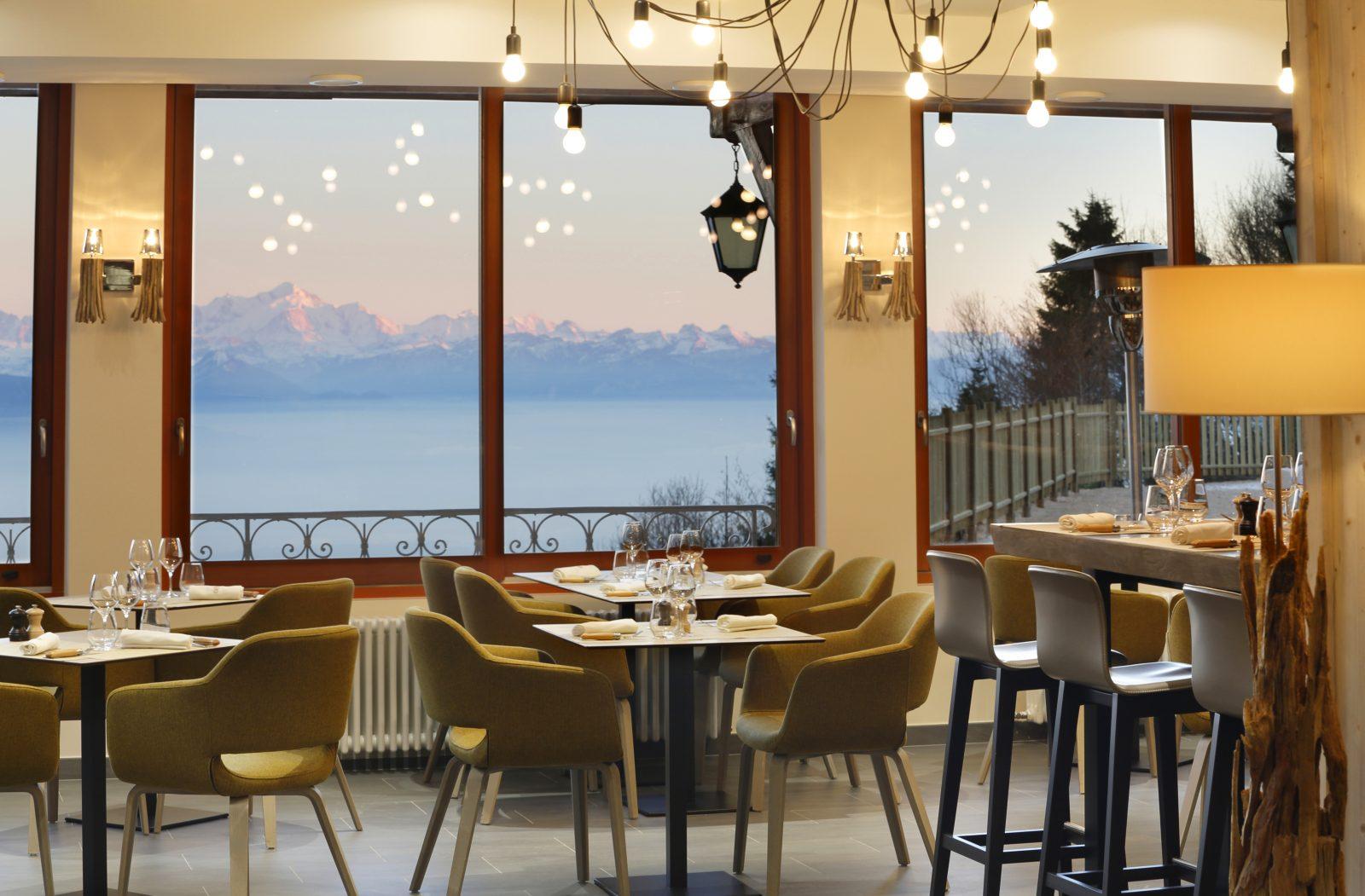 Salle de restaurant La Table de la Mainaz