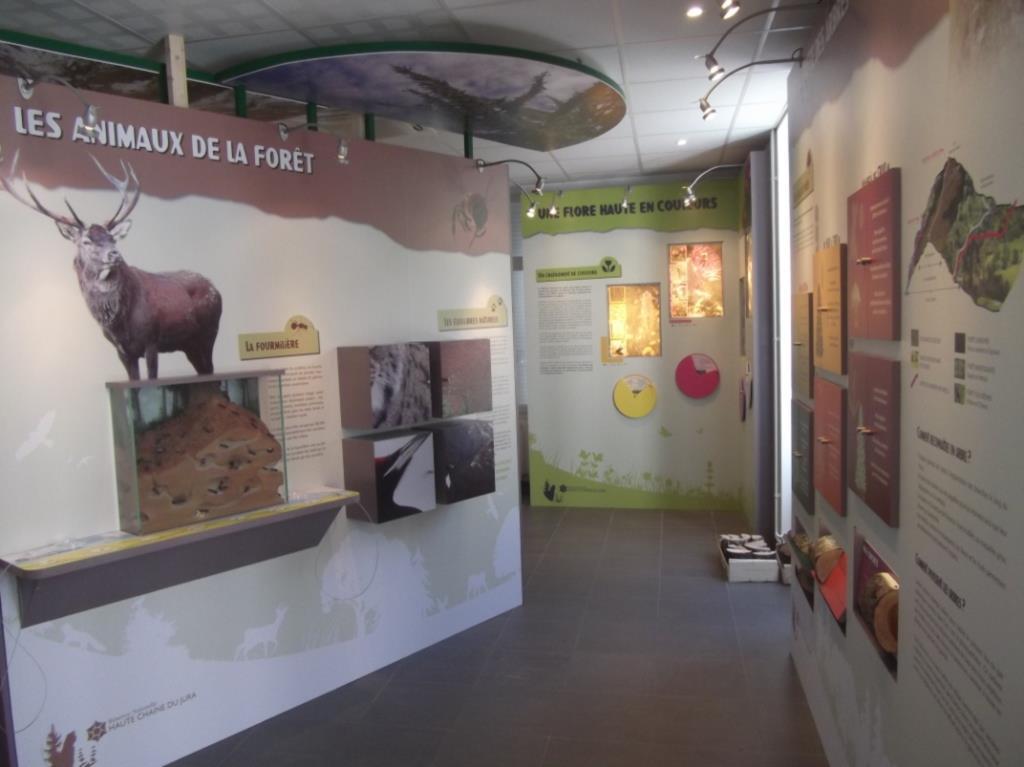 Maison de la Réserve Naturelle Nationale de la Haute Chaine du Jura