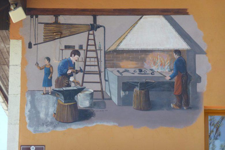 Fresque forgerons