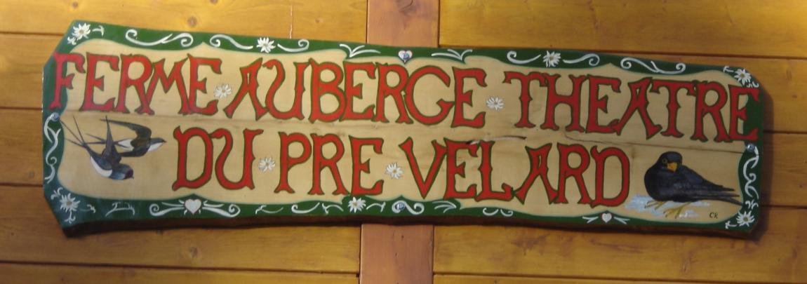 Ferme Auberge du Pré Velard