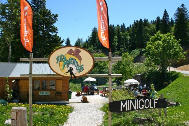 Entrée du Minigolf