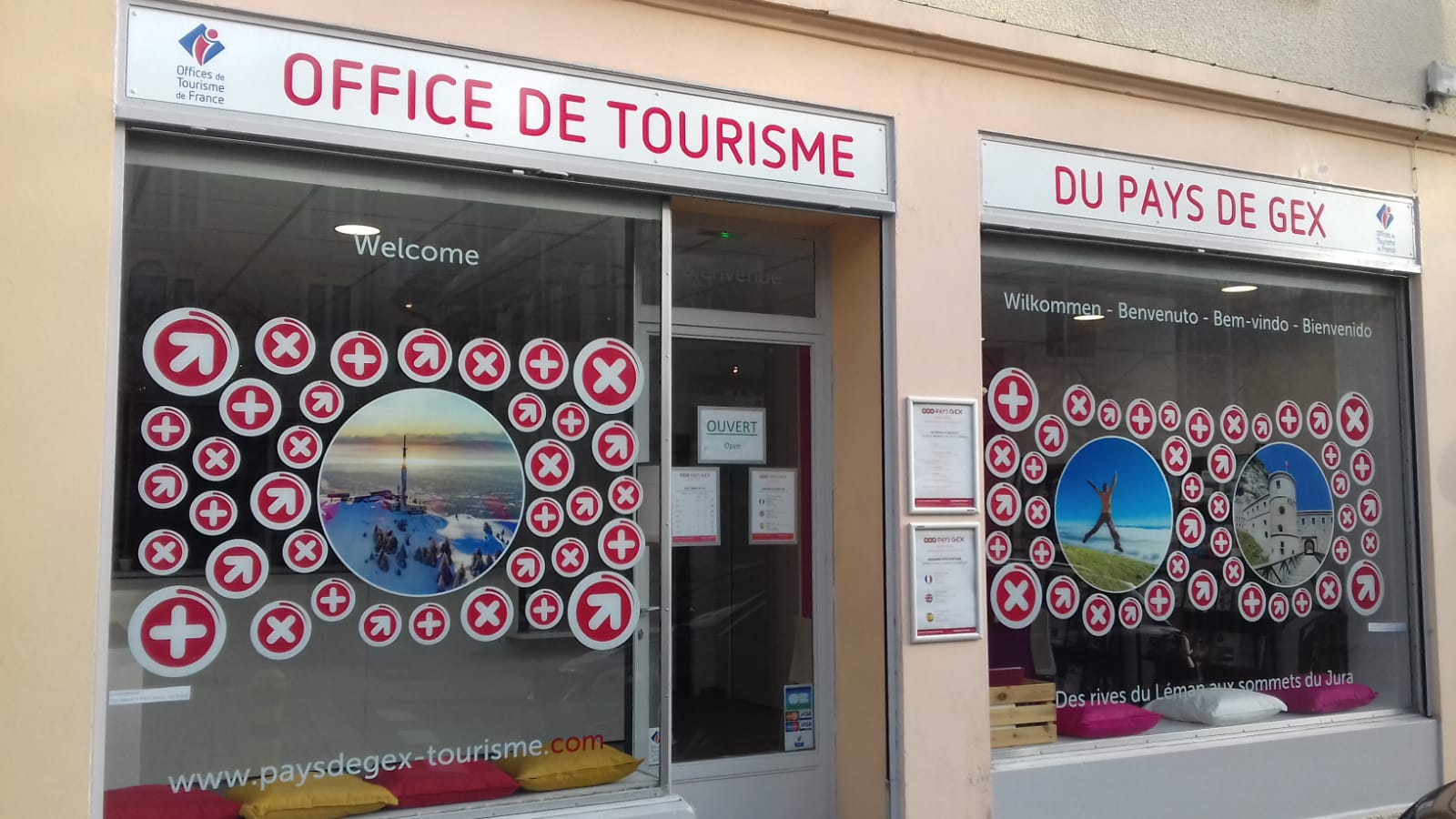 Office de Tourisme du Pays de Gex – Agence de Gex