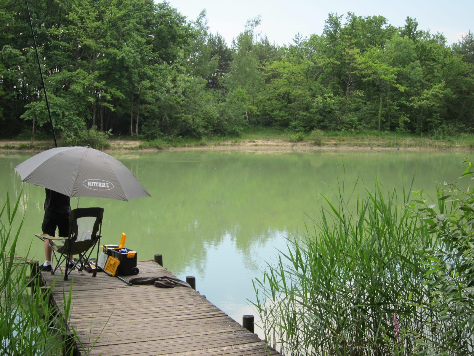 Pêche à l'étang de Colovrex