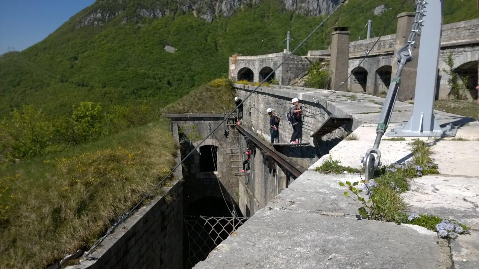 Fort l'Ecluse Aventure