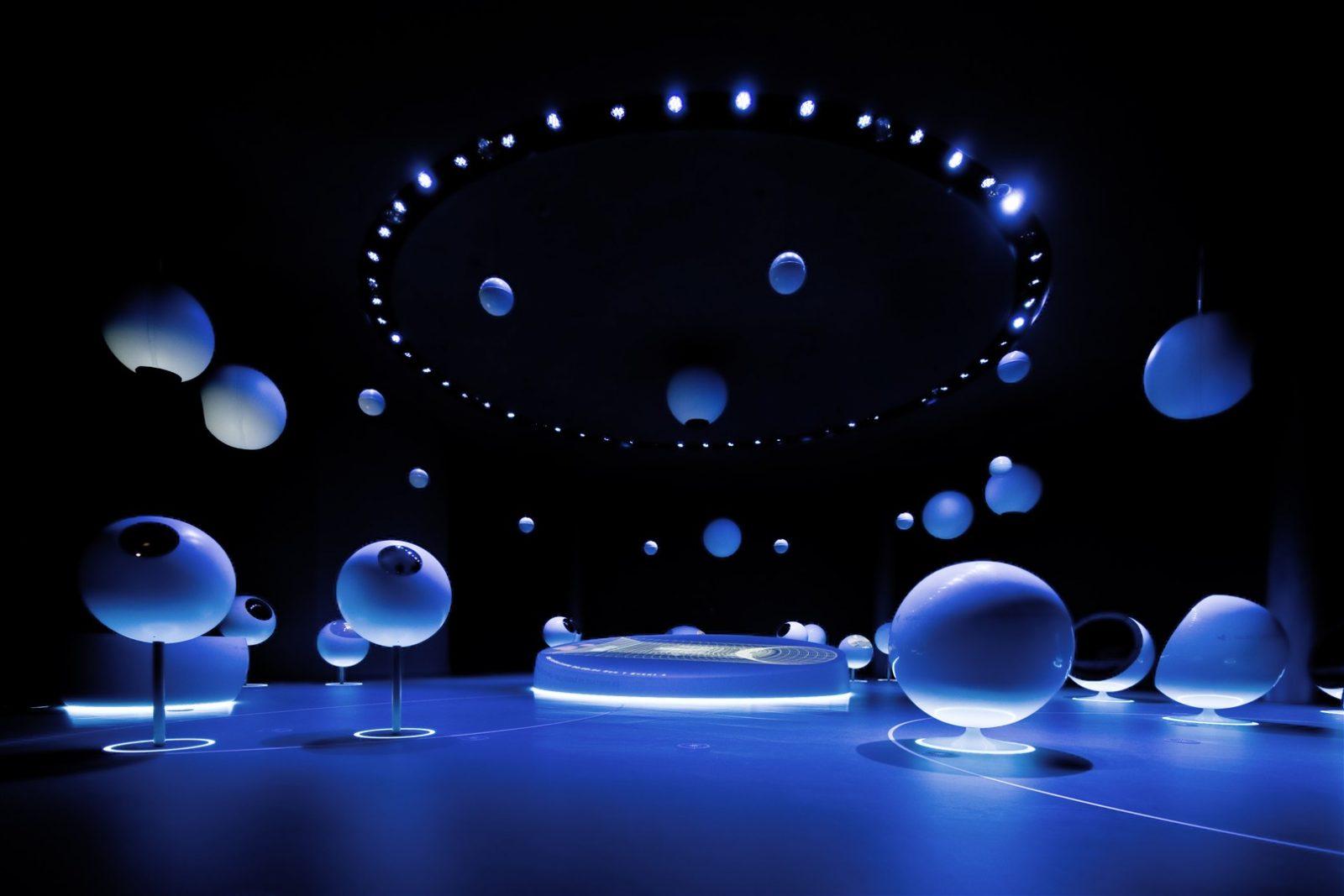 Univers de particules