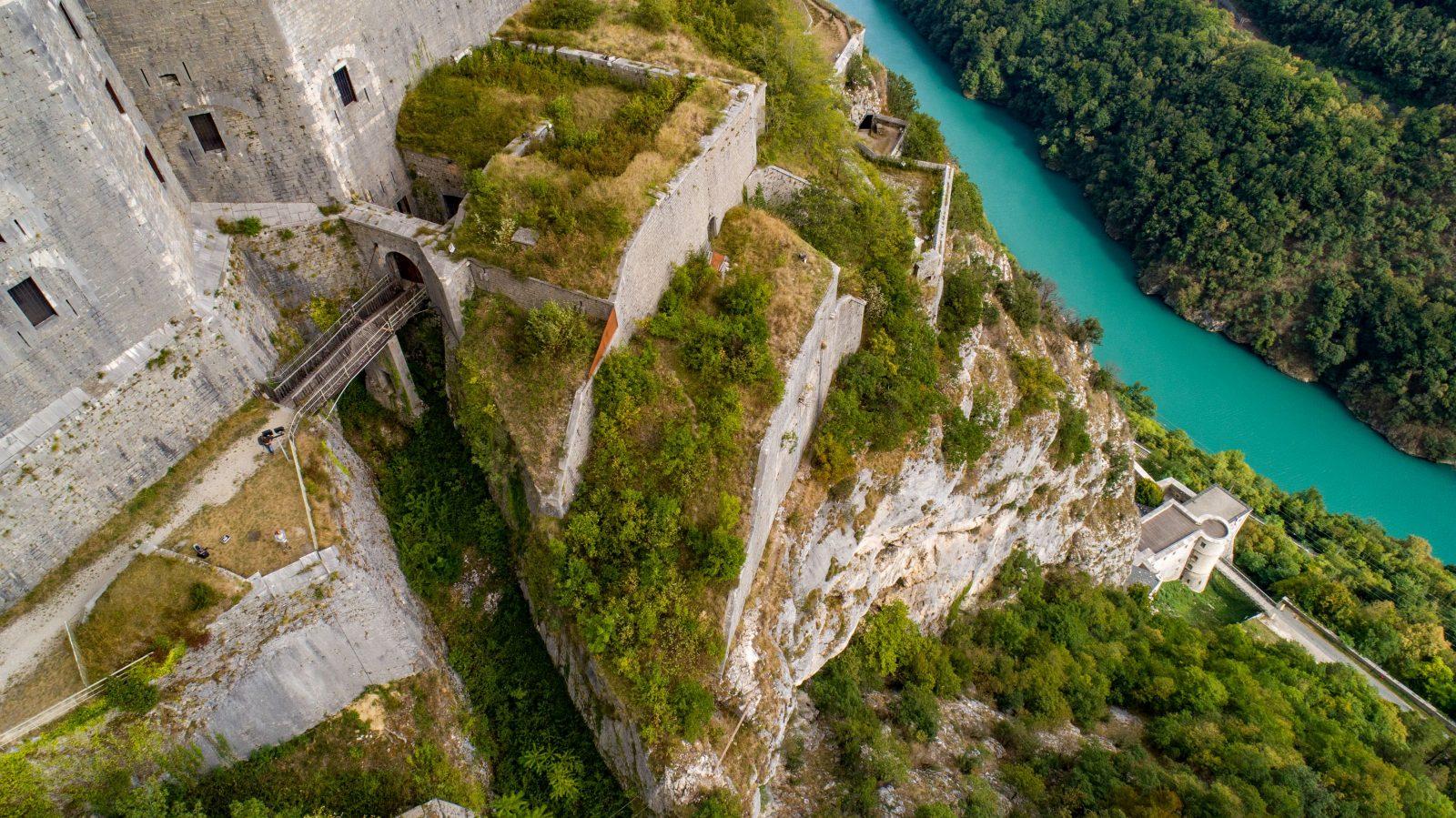 Fort l'Ecluse, une forteresse de montagne