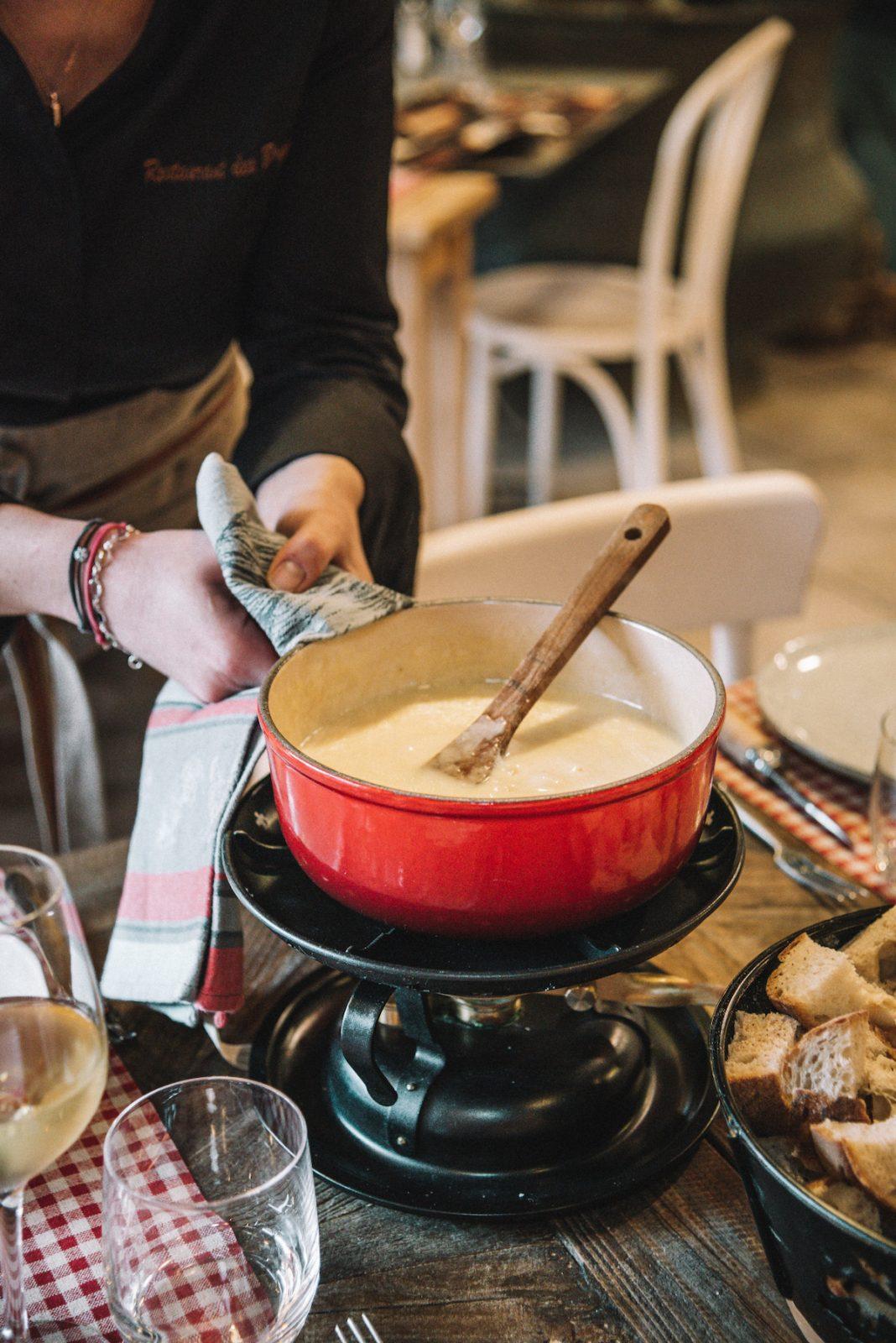Restaurant des bergers – fondue