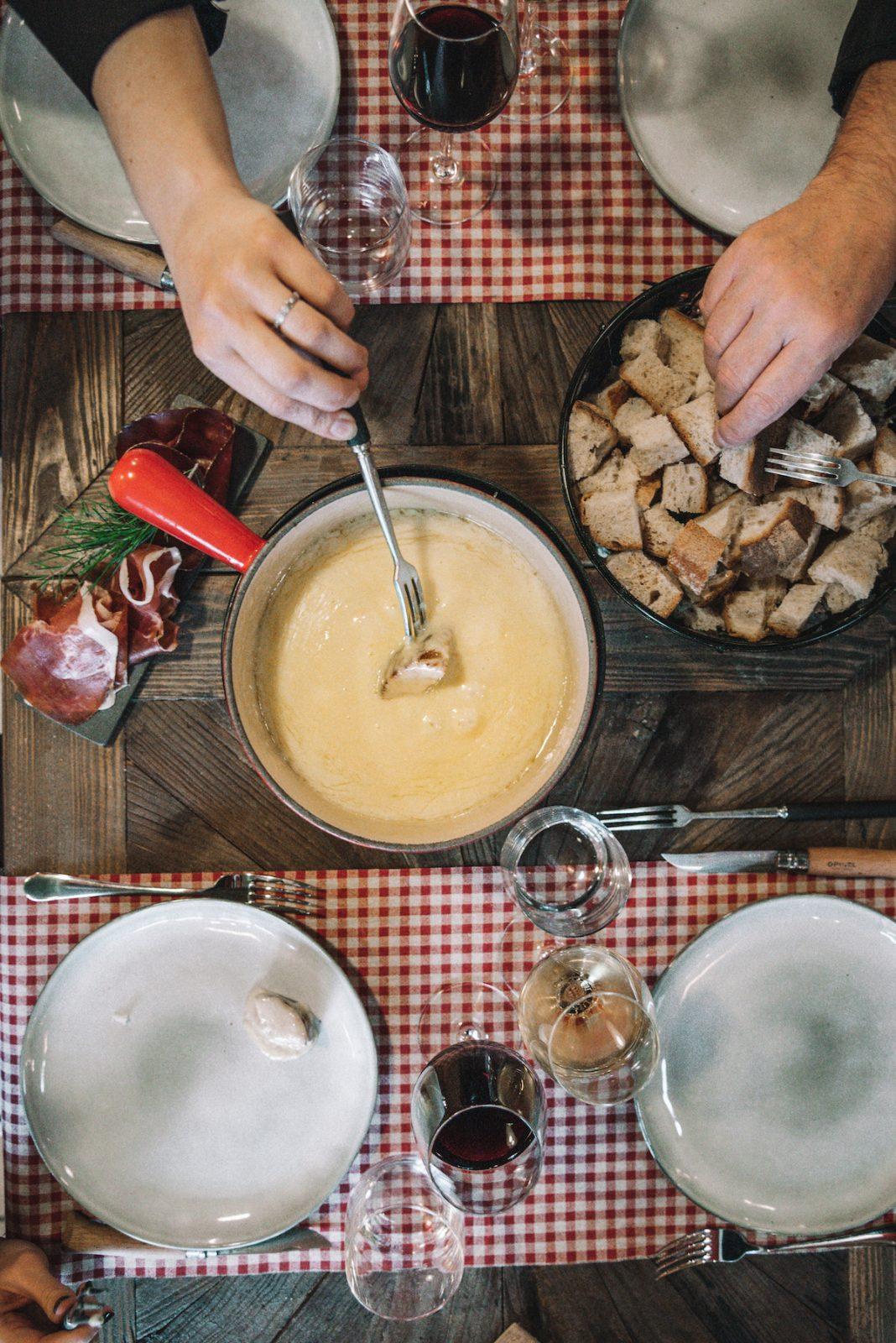 Restaurant des bergers – table