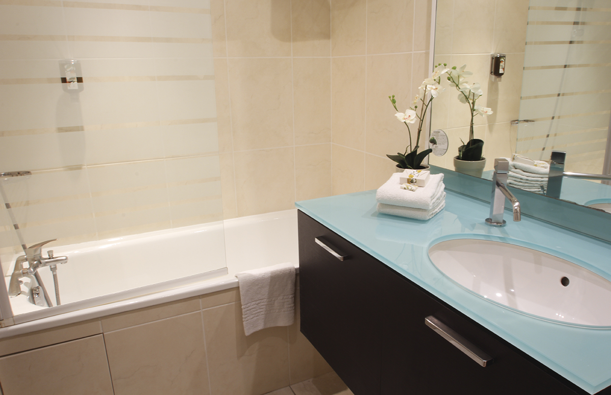 Appart'City – salle de bain