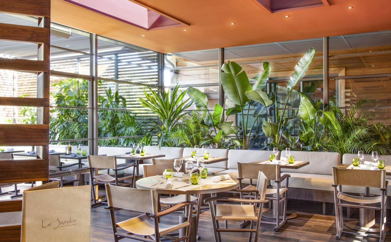 Intérieur restaurant Le Jardin