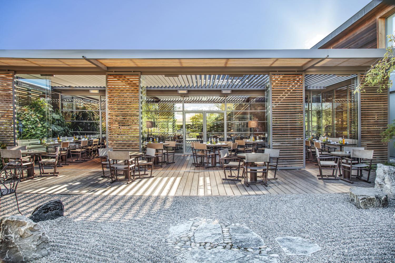 Terrasse restaurant Le Jardin