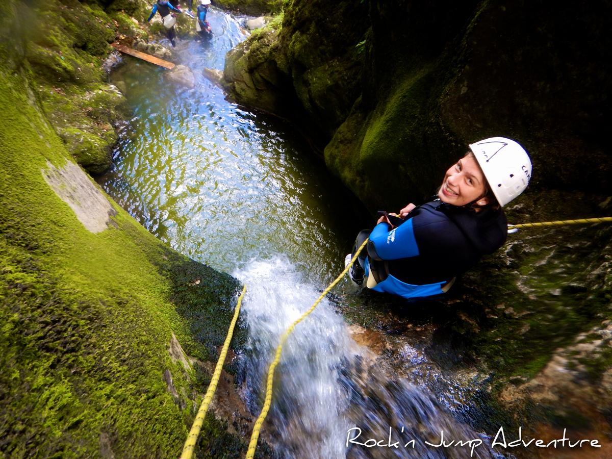 Canyoning dans le Jura à Saint Claude