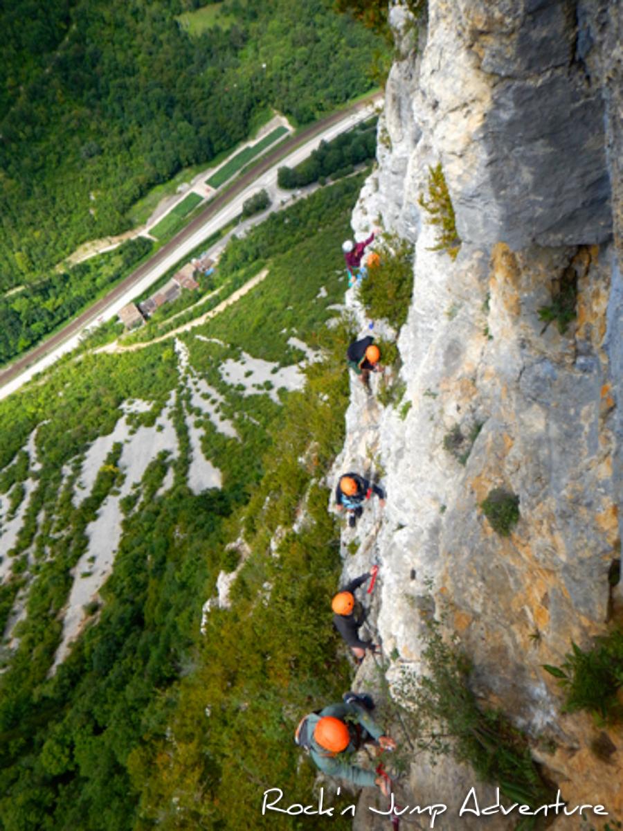 Via Ferrata dans le Jura à Vouglans, Fort l'Ecluse et Morez