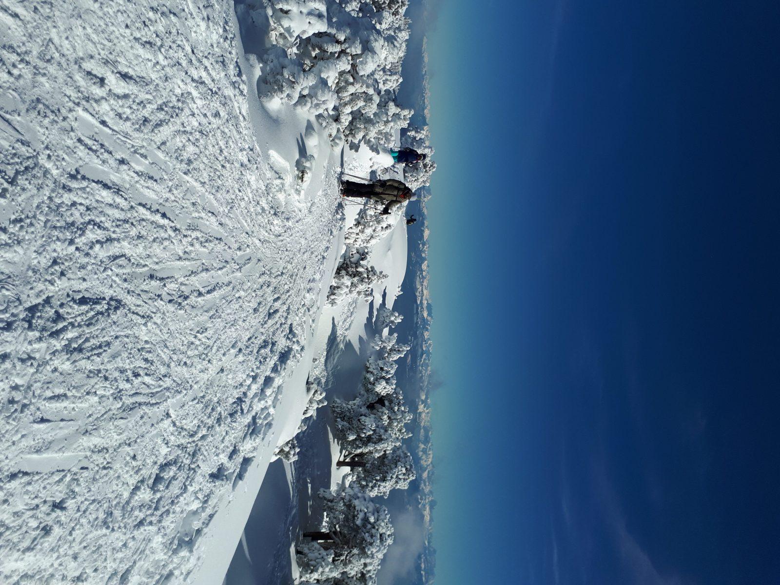 Raquette à neige avec Aurélien Couderc