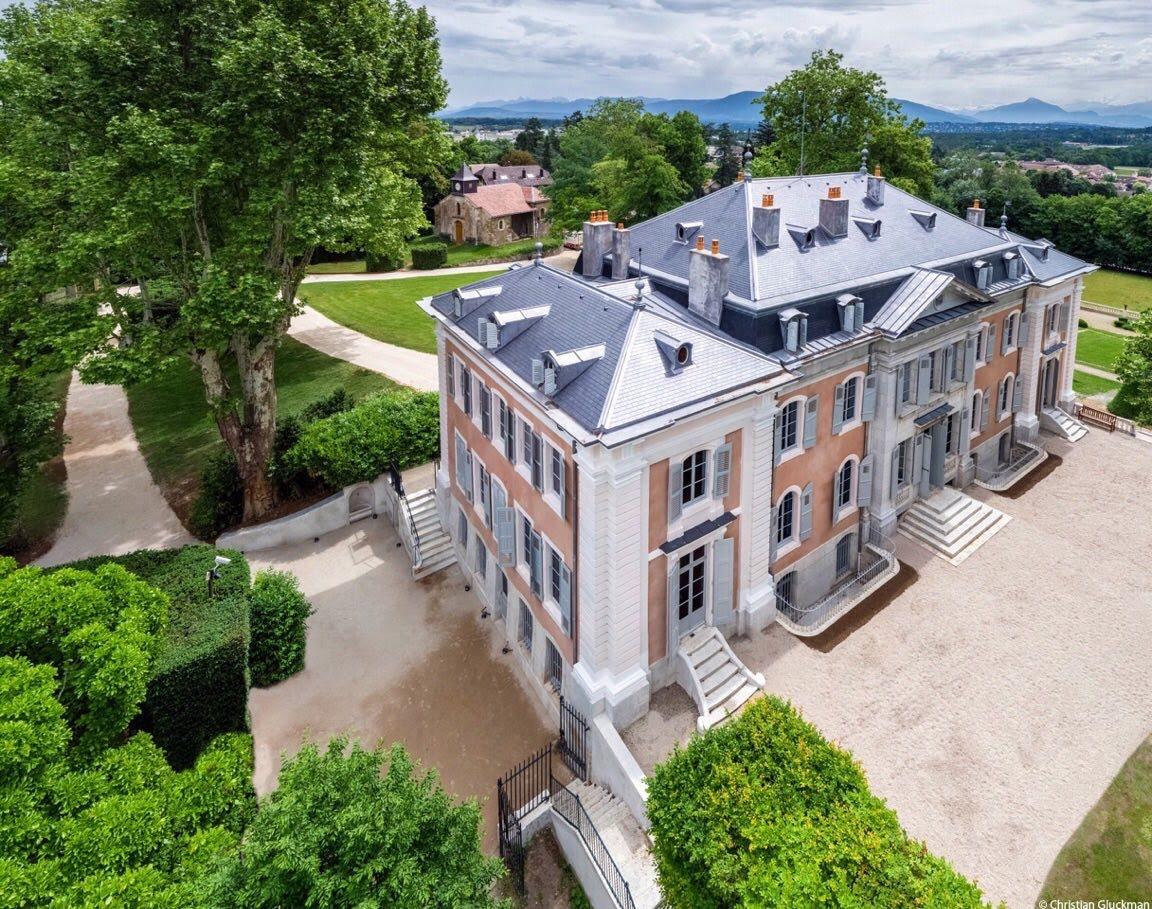 Le château vu d'en haut