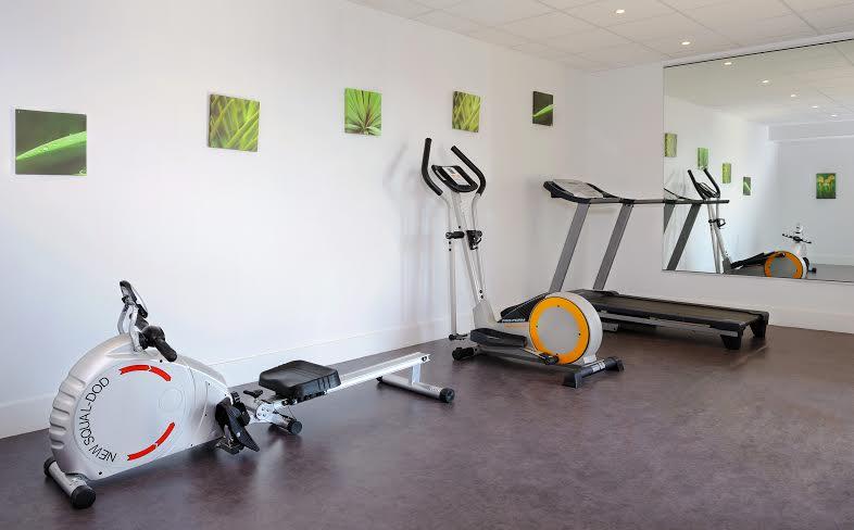 Séjours et Affaires Les Rives Du Léman Confort : salle de sport