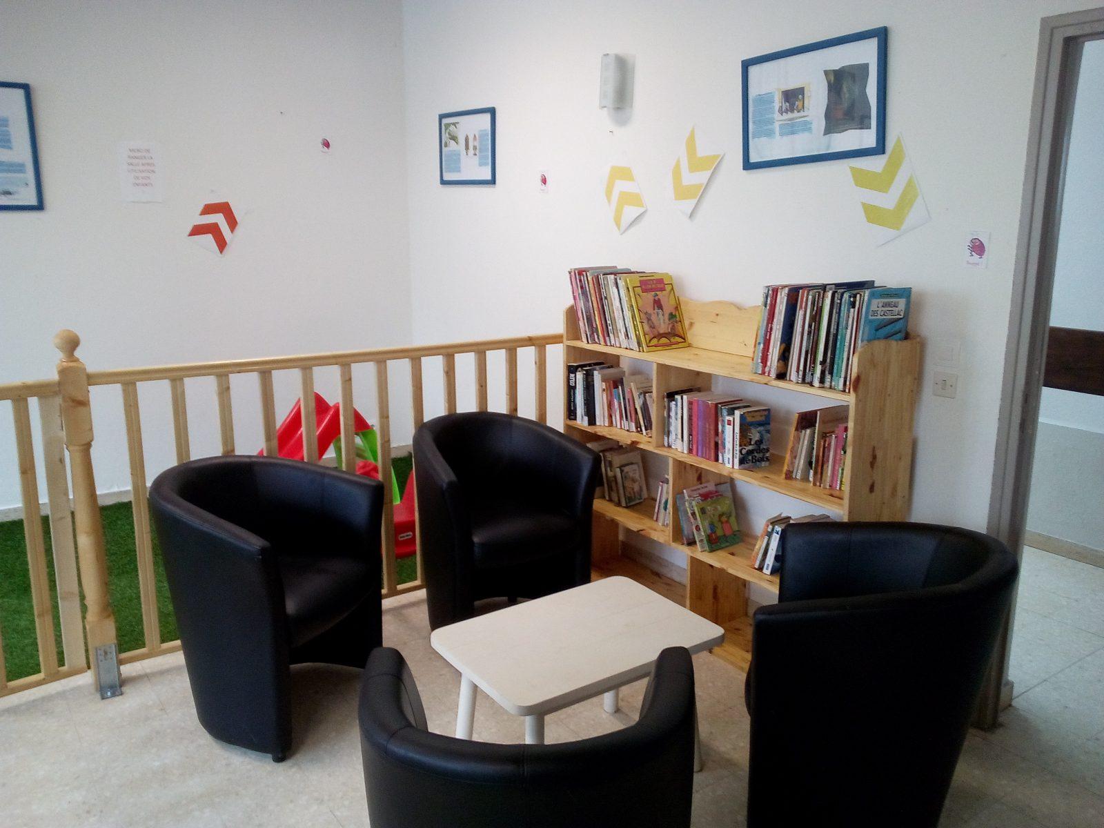Espace 0-3 ans et bibiliothèque