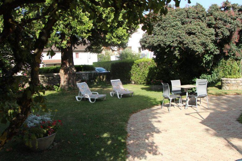 Terrasse – La Bonne Auberge