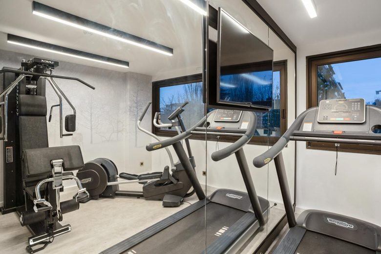 Salle de fitness, Appartcity